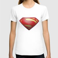 superman T-shirts featuring Superman by DeBUM