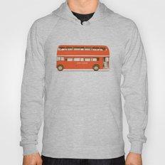 Red London Bus Hoody