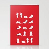 Yoga Bear - Polar Bear Stationery Cards