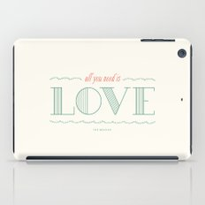 Love is All You Need iPad Case