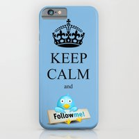 KEEP CALM TWITTER iPhone 6 Slim Case