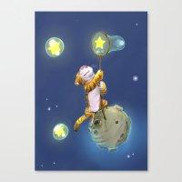 Stars Shepherd Canvas Print