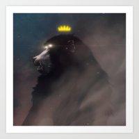 The King.  Art Print