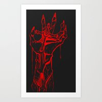 DeathCross Art Print