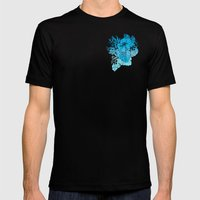 Tropical Soul Setting Mens Fitted Tee Black SMALL