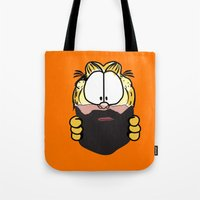 Garfield Cat Beard Tote Bag