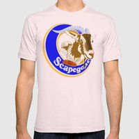 Scapegoat for Hire Mens Fitted Tee Light Pink SMALL