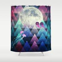 Sleeping Forest Shower Curtain