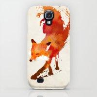 Galaxy S4 Cases featuring Vulpes vulpes by Robert Farkas