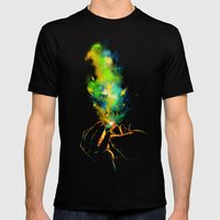 Light It Up! Mens Fitted Tee Black SMALL