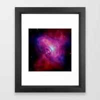 The Beam Framed Art Print