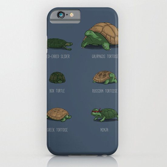 Know Your Turtles iPhone & iPod Case