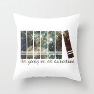 I'm Going On An Adventur… Throw Pillow