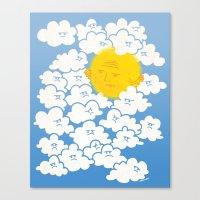 Cloud Control Canvas Print