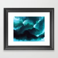 Waves Framed Art Print