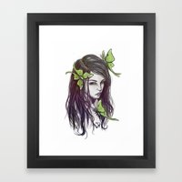 My Insect Life Framed Art Print