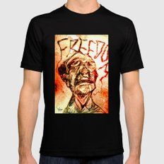 Freedom Mens Fitted Tee Black SMALL