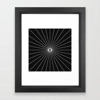 Big Brother (Inverted) Framed Art Print
