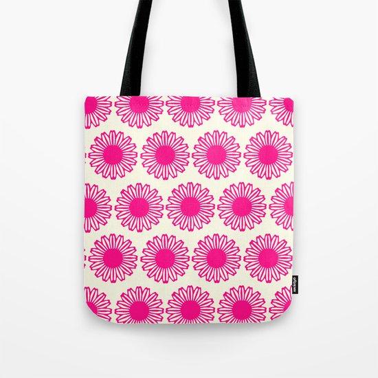 Vintage Flower_Pink Tote Bag