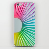 Rainbow Spring 2 iPhone & iPod Skin