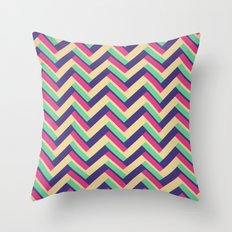 3-D Chevron Throw Pillow