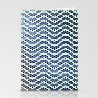 Chevron With A Twist Stationery Cards
