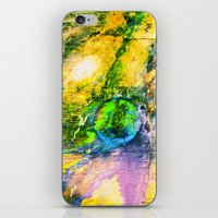My Sister lives On The Large Green Planet iPhone & iPod Skin