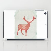 Christmas Stag iPad Case
