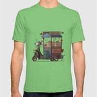 Thai Food Mens Fitted Tee Grass SMALL