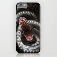 iPhone & iPod Case featuring Vision Serpent by Divine Mania