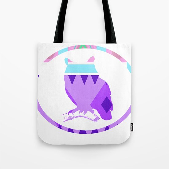 Aztek Owl Tote Bag