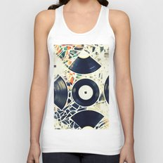Missing Pieces Unisex Tank Top