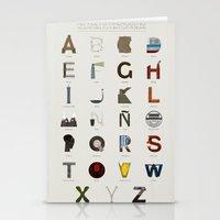 Alfabeto malagueño © Stationery Cards