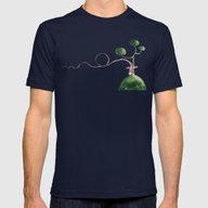 The Tale's Witch Mens Fitted Tee Navy SMALL