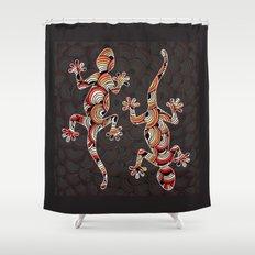 C13 GECKO 3 Shower Curtain