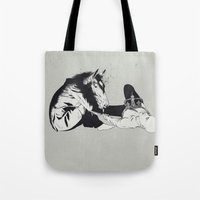 Checkmate Tote Bag