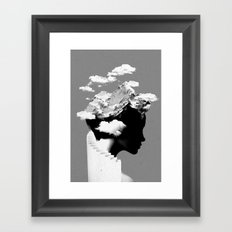 It's A Cloudy Day Framed Art Print