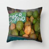 CocoFrio Throw Pillow