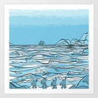 Shackleton- Elephant Isl… Art Print