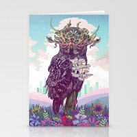 Journeying Spirit (Owl) Stationery Cards
