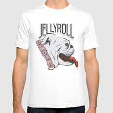 Jellyroll #10: Bull Dog Days Mens Fitted Tee White SMALL