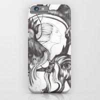 Retrato de Sirena iPhone 6 Slim Case