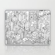 Isometric Urbanism Pt.1 Laptop & iPad Skin
