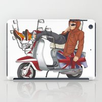 Scooter Is My Soulmate iPad Case