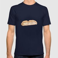 Biscotti Mens Fitted Tee Navy SMALL