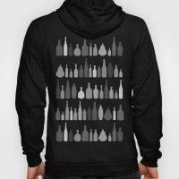 Bottles Black And White … Hoody
