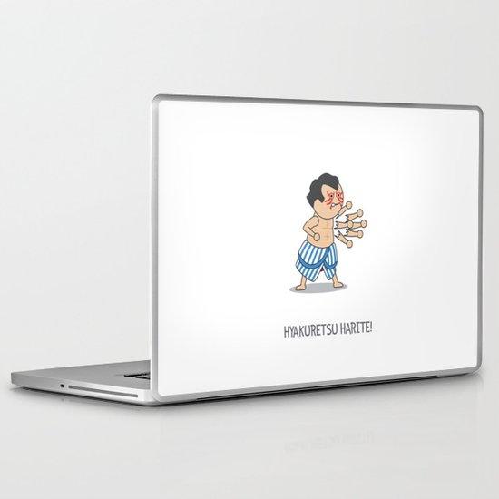 HYAKURETSU HARITE! Laptop & iPad Skin