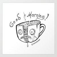 Good Morning Coffee Art Print