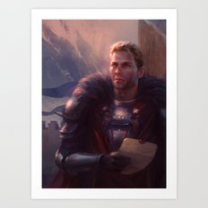 Cullen - Waiting Art Print
