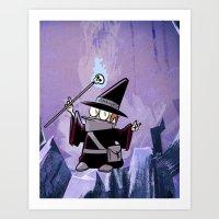 Harold The Evil Necroman… Art Print